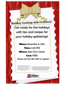 Cover photo for Holiday Cooking With Courtney