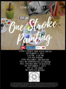 Cover photo for ECA- One Stroke Painting Class
