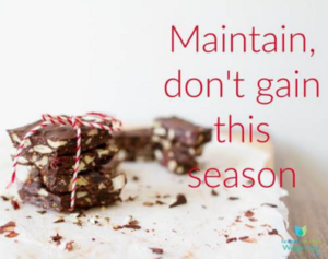 Cover photo for ESMM Maintain, Don't Gain! Holiday Challenge!