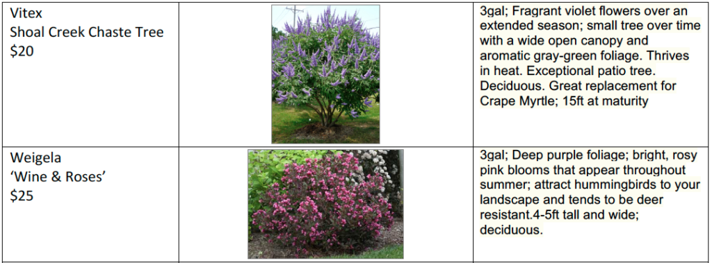 Plant Sale list page 3