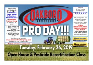 Pro Day Flyer