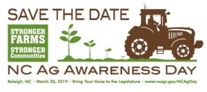 Cover photo for Support N.C. Agriculture Day on March 20