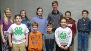 Cover photo for 4-H'ers Celebrate a Great Year