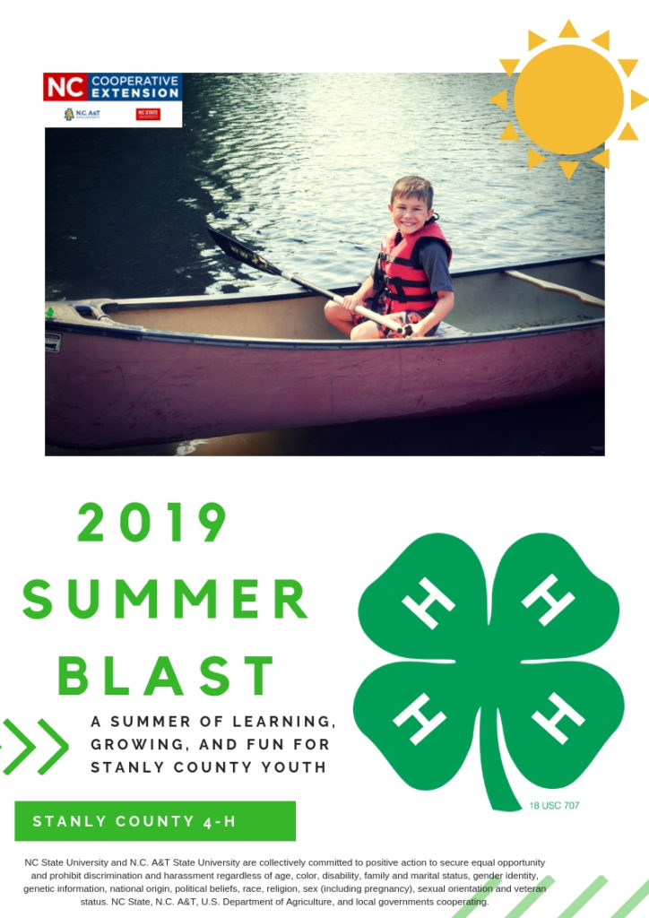 Summer Blast flyer