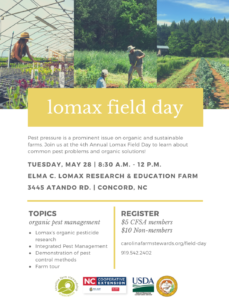 Cover photo for Lomax Field Day