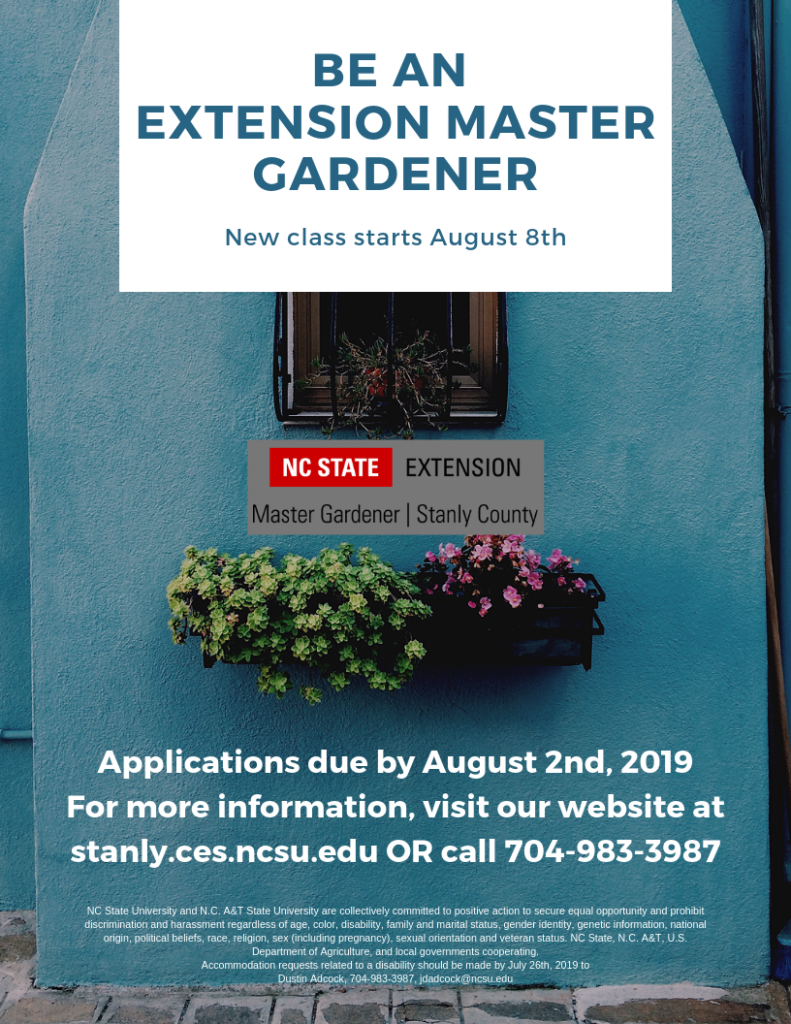 Extension Master Gardener Flyer