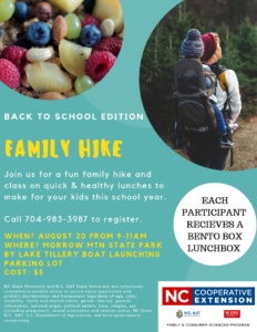 Family hike flyer image