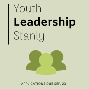 Cover photo for Recruiting for Youth Leadership Stanly 2019!