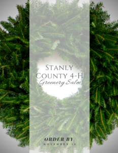 Cover photo for 4-H Greenery Sale 2019