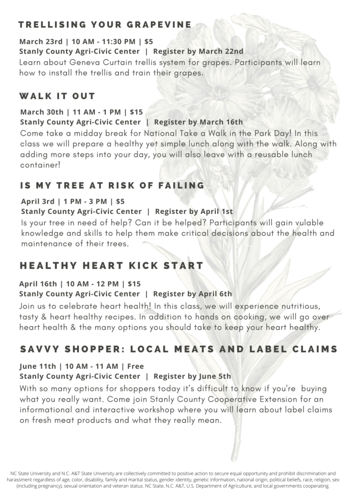 Learning to Grow Agenda flyer page 2