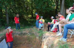 Soil Science Class in the Field