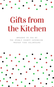 Cover photo for Gifts From the Kitchen