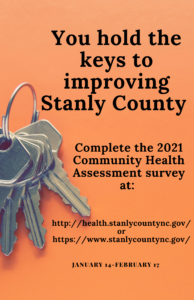 Cover photo for 2021 Community Health Assessment Survey