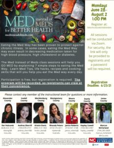 Cover photo for Summer 2021 Med Instead of Meds Program!